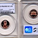 1996-S LINCOLN CENT PCGS CERTIFIED PROOF 69 RED DEEP CAMEO * FREE SHIPPING *