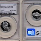 2000-S Jefferson Nickel Certified PCGS PR69DCAM * FREE SHIPPING *