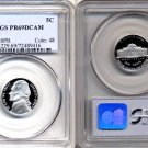 1994-S Jefferson Nickel Certified PCGS PR69DCAM * FREE SHIPPING *