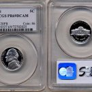 1992-S Jefferson Nickel Certified PCGS PR69DCAM * FREE SHIPPING *