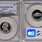 1981-S Type 2 Jefferson Nickel Certified PCGS PR69DCAM * FREE SHIPPING *