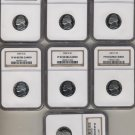 Jefferson set 1997-2003 NGC PF69UCAM