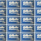 100 Gillette Platinum Double Edge DE Men Shaving Razor Blades
