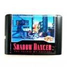 Shadow Dancer 16-Bit Fits Sega Genesis Mega Drive Game Repro