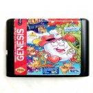 Fantastic Dizzy 16-Bit Fits Sega Genesis Mega Drive Game Repro