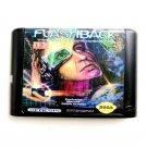 Flashback 16-Bit Fits Sega Genesis Mega Drive Game Repro