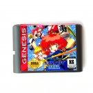 Panorama Cotton 16-Bit Fits Sega Genesis Mega Drive Game Repro