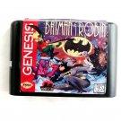 The Adventure Of Batman & Robin 16-Bit Fits Sega Genesis Mega Drive Game Repro