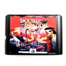 Double Dragon 16-Bit Fits Sega Genesis Mega Drive Game Repro