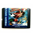 Aero Acro-Bat 16-Bit Fits Sega Genesis Mega Drive Game Repro