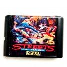 Streets of Rage 1 2 16-Bit Fits Sega Genesis Mega Drive Game Repro