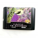 Castle of illusion Starring Mouse  16-Bit Fits Sega Genesis Mega Drive Game Repro