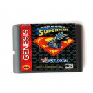 The Death And Return Of Superman 16-Bit Fits Sega Genesis Mega Drive Game Repro