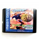 International Superstar Soccer Deluxe 16-Bit Fits Sega Genesis Mega Drive Game Repro
