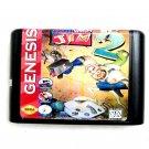 Earth Worm Jim 2 16-Bit Fits Sega Genesis Mega Drive Game Repro