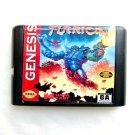 Turrican 16-Bit Fits Sega Genesis Mega Drive Game Repro