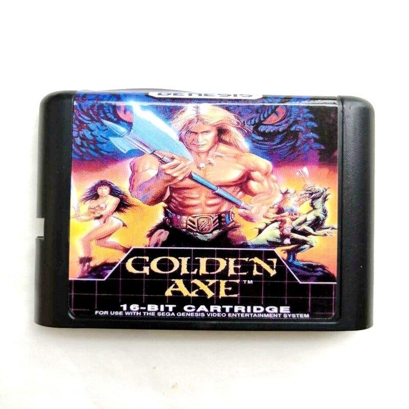 Golden Axe 16-Bit Fits Sega Genesis Mega Drive Game Repro