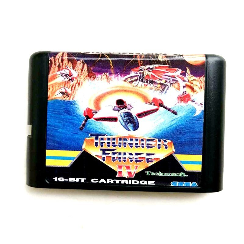 Thunder force 4 16-Bit Fits Sega Genesis Mega Drive Game Repro