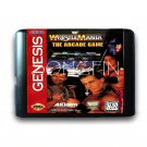Wrestle Mania The Arcade 16-Bit Fits Sega Genesis Mega Drive Game Repro