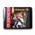 Wolfenstein 3d 16-Bit Fits Sega Genesis Mega Drive Game Repro