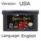 Spirite Spells For Gameboy Advance GBA USA version Repro