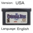 Oriental Blue For Gameboy Advance GBA USA version Repro