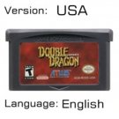 Double Dragon For Gameboy Advance GBA USA version Repro