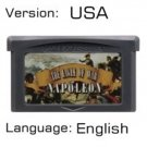 Napoleon For Gameboy Advance GBA USA version Repro