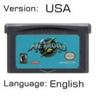 Metroide Fusion For Gameboy Advance GBA USA version Repro