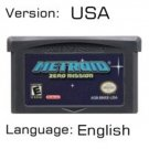 Metroide Zero For Gameboy Advance GBA USA version Repro