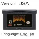 Doom For Gameboy Advance GBA USA version Repro