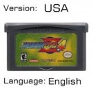 Mega Man Zero 4 For Gameboy Advance GBA USA version Repro
