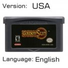 Golden Sun For Gameboy Advance GBA USA version Repro