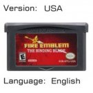 Fire Emblem The Binding Blade For Gameboy Advance GBA USA version Repro