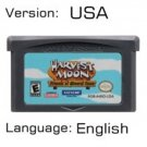 Harvest Friends For Gameboy Advance GBA USA version Repro