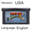 DKC 3 For Gameboy Advance GBA USA version Repro