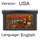 DKC 2 For Gameboy Advance GBA USA version Repro
