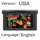 DKC For Gameboy Advance GBA USA version Repro
