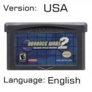 Advance Wars 2 For Gameboy Advance GBA USA version Repro