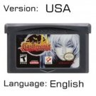 Castlevania Asia of Sorrow For Gameboy Advance GBA USA version Repro