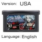 Castlevania Harmony For Gameboy Advance GBA USA version Repro