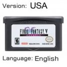 Final Fantasy V Advance For Gameboy Advance GBA USA version Repro