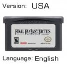 Final Fantasy Tactics Advance For Gameboy Advance GBA USA version Repro