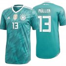 ADIDAS THOMAS MULLER GERMANY AUTHENTIC MATCH AWAY JERSEY FIFA WORLD CUP 2018.