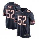 Men's Chicago Bears Khalil Mack Nike Navy Game Jersey