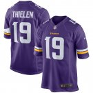 Men's Minnesota Vikings Adam Thielen Nike Purple Game Jersey