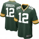 Mens Green Bay Packers Aaron Rodgers Nike Green Game Jersey