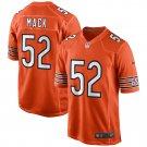 Men's Chicago Bears Khalil Mack Nike Orange Game Jersey