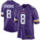 Men's Minnesota Vikings Kirk Cousins Nike Purple Game Jersey