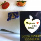 Collection / Lot of 4 State Hat  Lapel Pins, CT  FLORIDA  GEORGIA  VIRGINIA